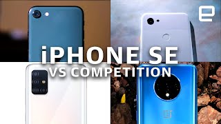 Apple iPhone SE vs. the competition