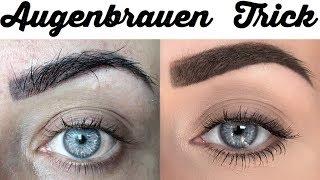 Die Perfekte Augenbraue - DER BESTE TRICK DER WELT