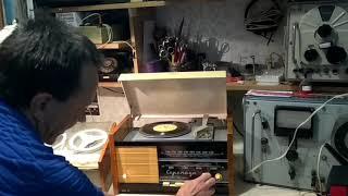 Радиола Серенада и магнитофон Нота- ламповый музыкальный центр 60х годов прошлого века.