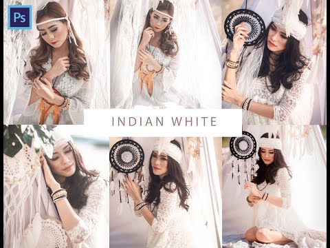 Free Preset Camera Raw Photoshop ,white Tone (indian White)