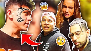 CLOUT HOUSE REACTS TO MY NEW FACE TATTOO (ft. Sommer Ray & WolfieRaps)