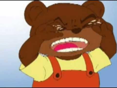 Gấu con bị sâu răng