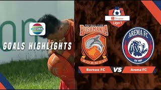 Borneo FC (2) vs Arema FC (0) - Goal Highlights | Shopee Liga 1
