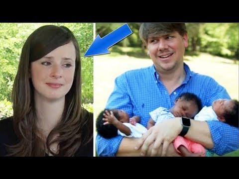 Mujer Blanca se queda así al tener tres hijos negros pero la reacción de su marido es bella