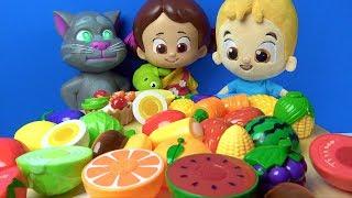 Niloya pazardan kes oyna kesilebilen meyve sebze alıyor Niloya yemek yapıyor pazara gidelim şarkısı