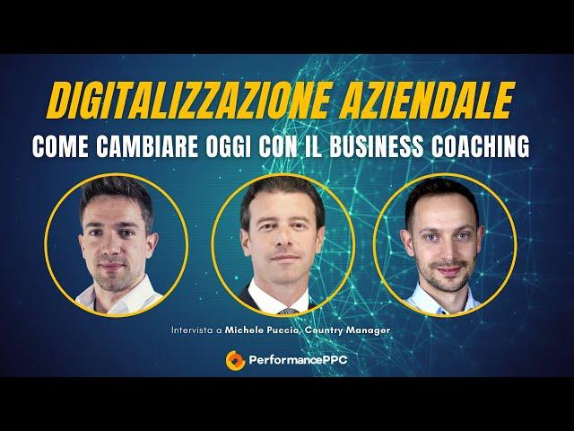 LIVE: Digitalizzazione aziendale e business coaching