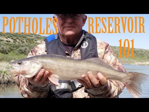 POTHOLES RESERVOIR| 101| WALLEYE