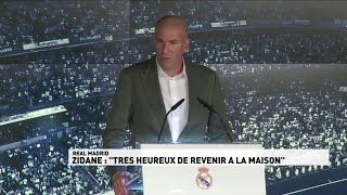 Zidane de retour : les meilleurs moments de la conférence de presse
