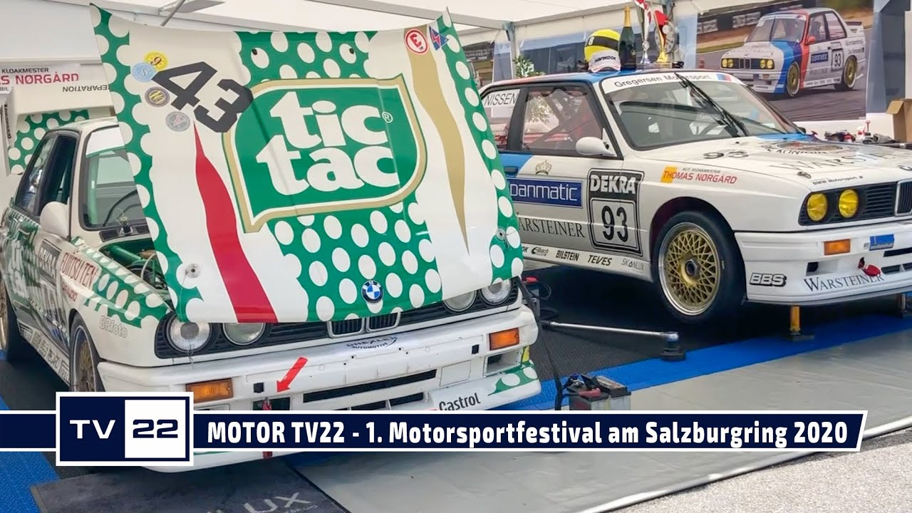 MOTOR TV22: Die Tourenwagen Classics beim 1. Motorsportfestival am Salzburgring