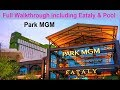 The New Park MGM + Eataly + Pool - Walkthrough 2019 From Top-buffet.com