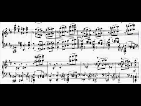 Brahms - Rhapsody Op.79 n.1 + Sheet Music - Gabriele Strata