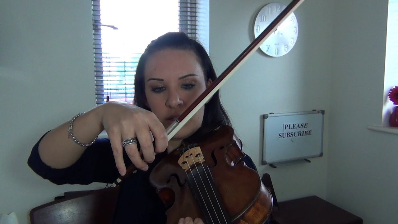 how to teach violin bowing