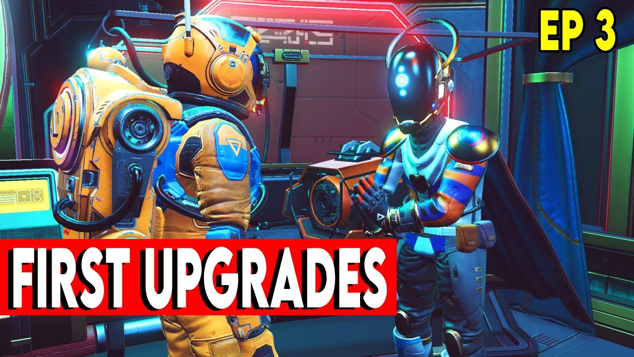 Download Getting Upgrades in No Man's Sky Gameplay 2021 Prisms Update Ep  3