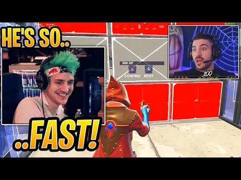 Ninja is AMAZED at How FAST NickMercs Can Build Now - Fortnite Best and Funny Moments