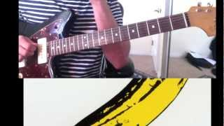 "Guitar Lesson - ""Sweet Jane"" - Velvet Underground (Chords with Tab)"