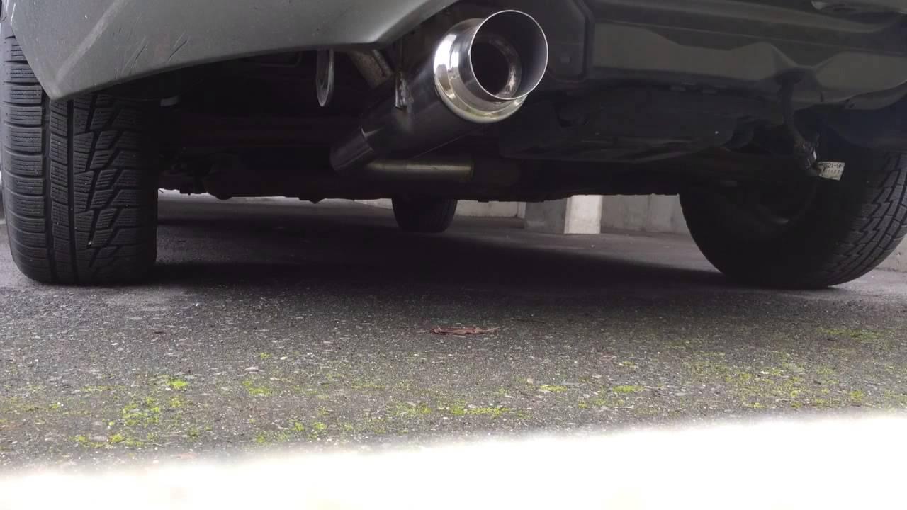 2000 mercury cougar 2 5l v6 catback exhaust youtube rh youtube com