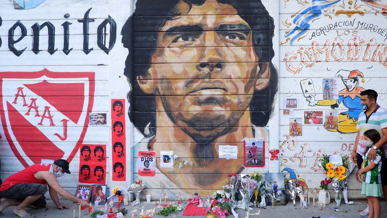 Diego Maradona death: Seven medical professionals charged with ...