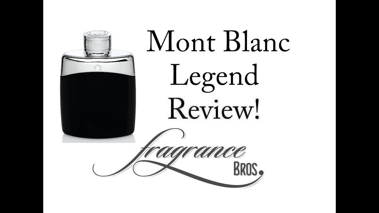 Legend Spirit by Mont Blanc Fragrance / Cologne Review - YouTube