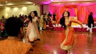THE BEST PITHI DANCE EVER! (2 OF 3) FARIHA & MALIK'S WEDDING!