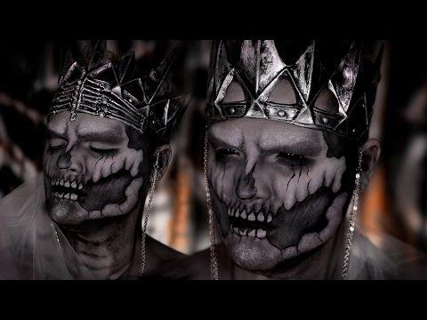 Undead Wraith King Halloween Makeup Tutorial ft Jordan Hanz!
