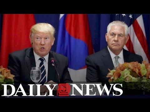 President Trump challenges Rex Tillerson to IQ test after alleged 'moron' remark