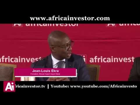 Jean-Louis Ekra, President, African Export Import Bank, Ai CEO Investment Summit 2014