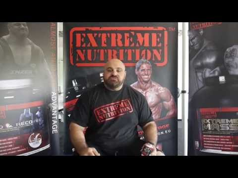 Laurence Shahlaei, Europes Strongest Man 2016 talks supplements.