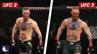 EA Sports UFC 3 - Graphics Comparison: Is it worse ? ft. Conor McGregor