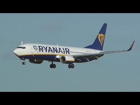 NEW Ryanair Boeing 737-800 Delivery flight from Boeing Field to Dublin