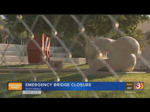 VIDEO: Safety inspection finds Scottsdale bridge to dangerous to cross