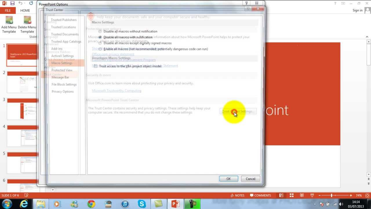 ppt 2013 installation slidedynamic add in for powerpoint 2013 youtube