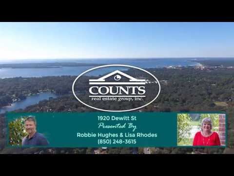 1920 Dewitt - Panama City Cove Waterfront Home for Sale