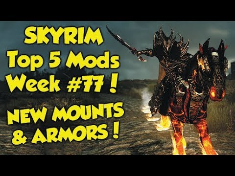 Skyrim Remastered Top 5 Mods of the Week #77 (Xbox One Mods) thumbnail