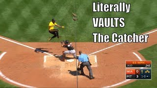 MLB Unbelievably Athletic Plays