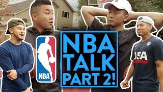 NBA TALK: Season Opener 2016 - 17 w/ RICHIE LE, TAN TANG pt. 2/2!