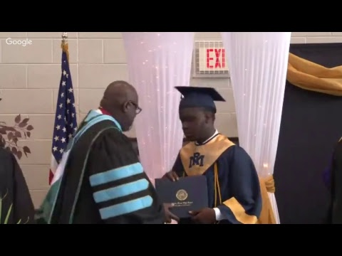 NRMPS Rocky Mount High School Commencement Ceremony 2017