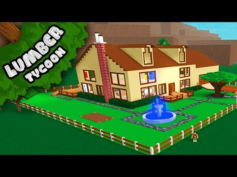 Lumber Tycoon - SUPER DETAILED HOUSE!! | Roblox