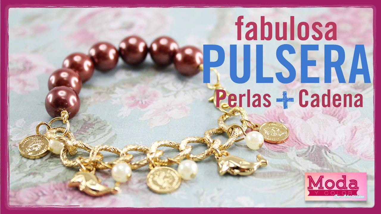 88ab5880ef41 Como hacer pulsera perla dijes con Adri Muñoz Kit 23183