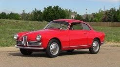 Classics revealed: 1959 Alfa Romeo Giulietta Sprint & Spider