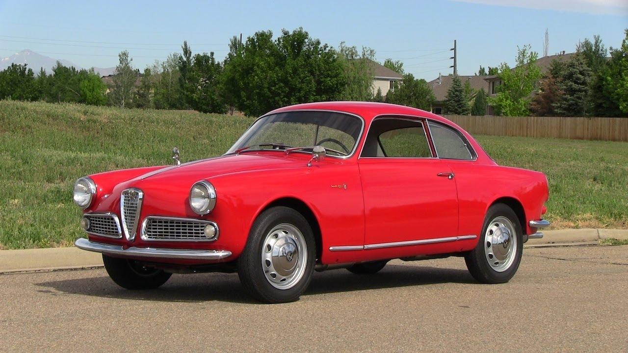 classics revealed: 1959 alfa romeo giulietta sprint & spider - youtube