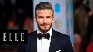 David Beckham Opens Up About His Family and Fatherhood | ELLE