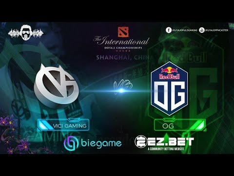Vici Gaming vs OG | Best of 2 Game 2 | Group Stage | The International 9