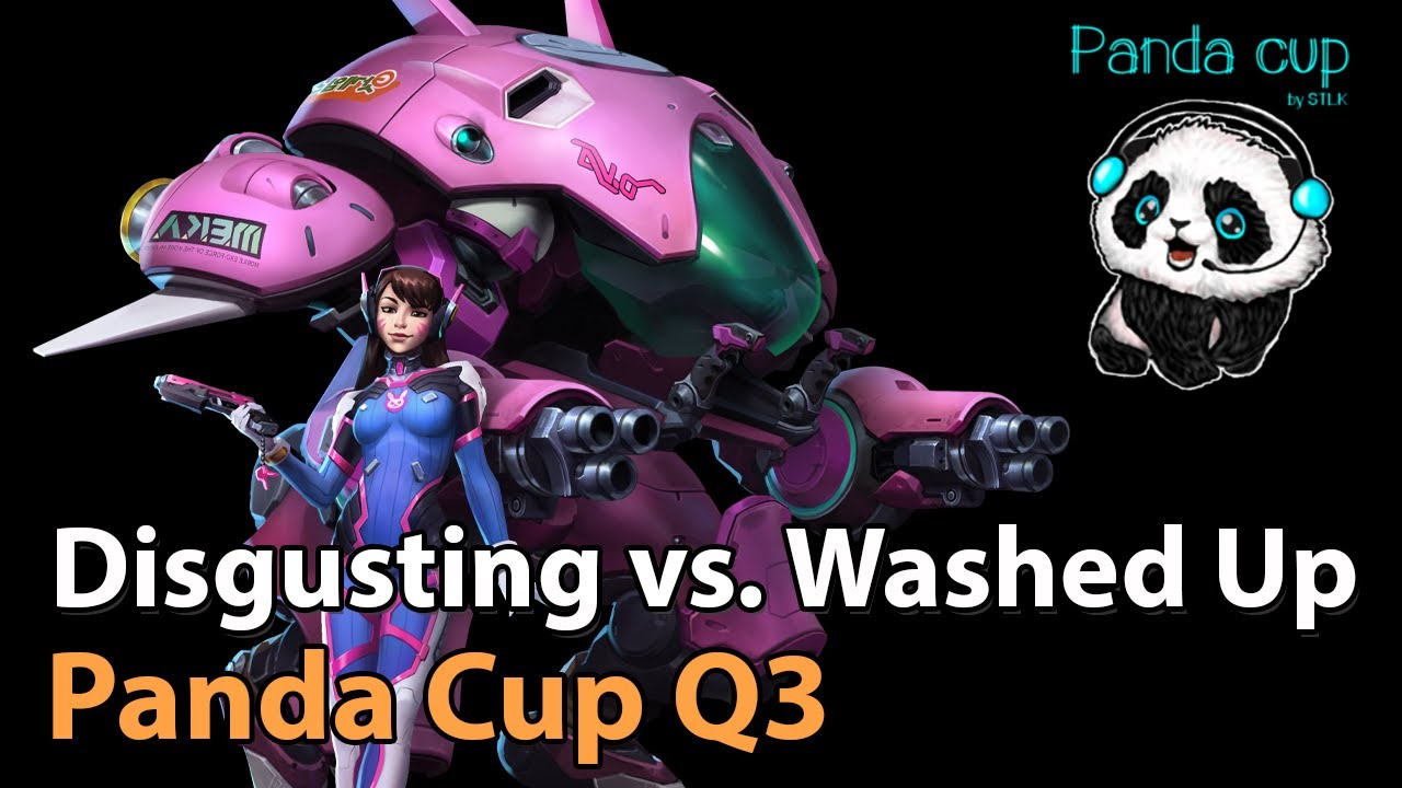 ► Washed Up vs. Disgusting - Panda Cup Q3 -  Heroes of the Storm Esports