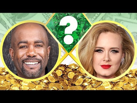 WHO'S RICHER? - Darius Rucker Or Adele? - Net Worth Revealed! (2017)