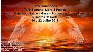 Previsão Semanal Libra á Peixes -  16 a 22 de Julho 2018