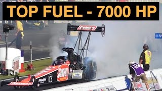 Gumout Top Fuel Dragster - 7000 HP Explained thumbnail