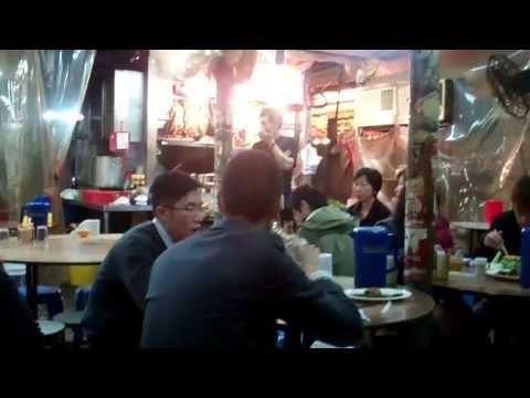 Temporary Hawker Shed, Kowloon, Hong Kong
