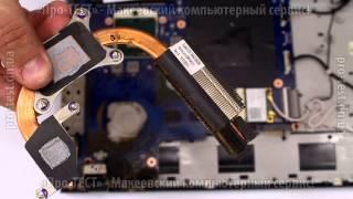 Как разобрать ноутбук Samsung 300E Разборка ноутбука Samsung 300E Ремонт ноутбука в Макеевке