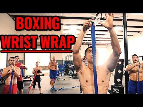 How to Wrap Wrists for BOXING with Kickboxing Coach Mike Zhang