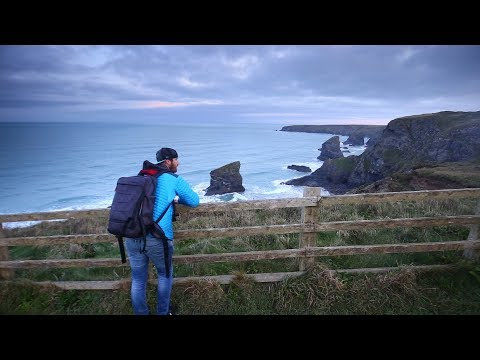 A Day of Landscape Photography in Cornwall | Bedruthan Steps, St. Nectan's Glen & Land's End